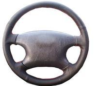 Высокое качество автомобильные аксессуары кожа ручной сшитые крышки рулевого колеса автомобиля для BYD F3 F3R 2007-2013