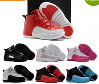 New 12 Kids Shoes Children J12s Basketball Shoes High Qualit...