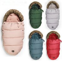 2018 Newborn Baby Sleeping Bag Autumn Winter Authentic Strol...
