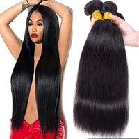 Пучки человеческих волос бразильской объемной волны 8А Необработанные прямые девственные волосы Плетение с водной волной Пучки с глубокими волнами Kinky Curly Extensions