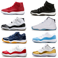 2018 chaussures de basket-ball 11 XI Gym Red Chicago White Hommes chaussures de basket-ball gagnent comme 96 82 femmes Sneakers de sport nouvelle taille 5-13