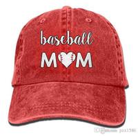 pzx @ Baseball Cap für Herren Damen, Baseball Mom Unisex Baumwolle Einstellbare Denim Cap Hut Multi-Color optional