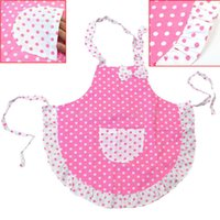 Cute Kids Children Kitchen Baking Painting Apron Baby Art Co...