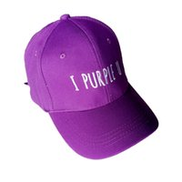 New Kpop BTS BT21 V Baseball Cap Snapback Hat I PURPLE U Pur...