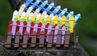 Mini Fence Small Barrier Wooden Resin Miniature Fairy Garden...