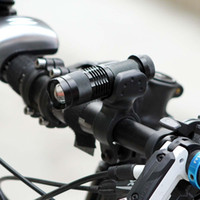 LED Bicycle Light 7Watt 2000 Lumens 3 Mode Cycling Light+Torch Bike Holder Q5 LED Waterproof Front Light Zoomable