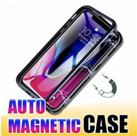 2019 Magnetic Full Coverage Cell Phone Case for iPhone X XS ...