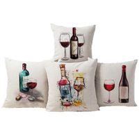 Fodere per Cuscino Copripiumino in cotone stile casual per cuscino decorativo Fodera per cuscino in lino cotone per divano sedile 18 x 18 pollici