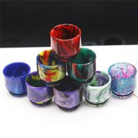 Colorful 810 510 TFV8 Large Wide Bore Epoxy Resin drip tip 8...