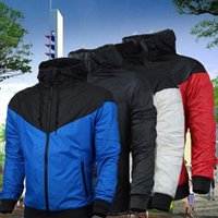 Fall thin windrunner Men Women sportswear waterproof fabric ...