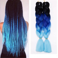 Z&F Kanekalon Fashion Braiding Hair Jumbo Braids Wefts Ombre...