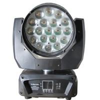 Zoom Moving Head Lichtstrahl Waschen Bühnenbeleuchtung 19pcs 15w Quad High Power Led Kann mit Aura CTO einstellbar arbeiten