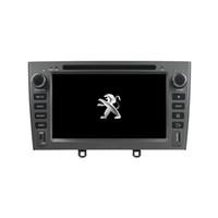 Araba DVD oynatıcı için Peugeot PG 408 7 inç andriod 8.0 ile GPS, direksiyon kontrolü, Bluetooth, Radyo