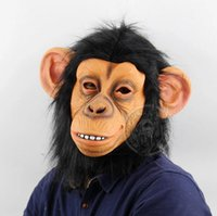 Big Ear Monkey Halloween Funny Animal Headgear Christmas Pro...