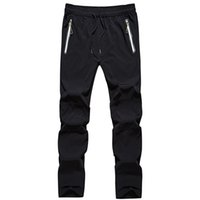 Quick Dry Outdoors Sportting Trousers Mens Fashion Spring Autumn Trousers Men Pants Waterproof Breathable Stretch Plus Size