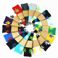36 Colors Maple Leaf Hiphop Sport Socks For Men and Women 3D...