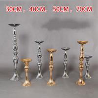 Titular de la sirena del Cuerno de velas estilo de la moda de vector florido soporte de decoración partido romántico Diseño boda Decoración de eventos 27rx6 Z