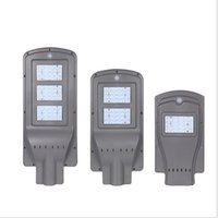 LED Solar Street Lights 60W 40W 20W 30 85- 100LM Lamp All- in-...