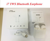 NEW I7 I7S TWS Wireless Bluetooth Earbuds Twins Headphones E...