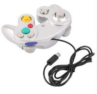 게임 패드 새로운 게임 컨트롤러 게임 패드 조이스틱은 Wii과 게임 큐브를위한 Nintendo 5 색