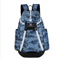 حقائب كرة السلة 2833 العلامة التجارية الجديدة الأولمبية الولايات المتحدة الأمريكية فريق حزم حقيبة الظهر الرجل سعة كبيرة للماء التدريب حقائب السفر حقائب الأحذية