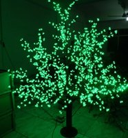 2m 6.5ft altezza LED artificiale Cherry Blossom alberi luce di Natale 1536 pz LED lampadine 110/220 VAC impermeabile fairy garden decor