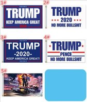 100pcs 90*150cm Trump 3x5 Flag keep America Great 2020 Donal...
