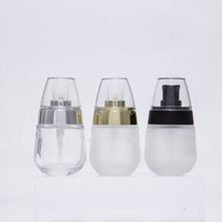 1 Pc 30ml emulsion Empty frosted glass Essential oil bottle ...