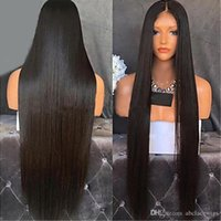 Hot Sell Full Lace Long Straight Natural Wigs with Baby Hair...