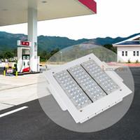 L'auvent anti-déflagrant de LED allume la lumière élevée de baie de 100W 120W 150W 200W enfoncée montée pour la lumière de la station de GAS CA 90-277V 3 ans de garantie