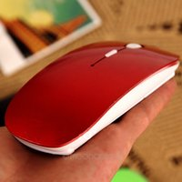 Ultra Thin USB Optical Wireless Mouse 2. 4G Receiver Super Sl...