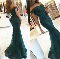 Abiti da sera eleganti da sirena Abiti da sera 2018 Appliques Perline di cristallo Prom Dress Backless Sweetheart Vestido de Fiesta