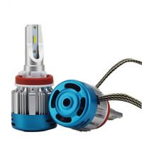 LED لمبة سيارة H4 مرحبا / لو فول سيارة LED لمبة المصباح تحويل عدة 54W 6000LM / مجموعة 6500K LED لمبة H1 H3 H7 H8 9005 H11