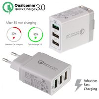 High Quality Qc 3. 0 30w Phone Fast Quick Charger EU US UK Pl...