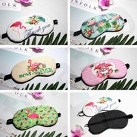 New Style Cartoon Cute Flamingos Sleep Shade Eyepatch Flamin...