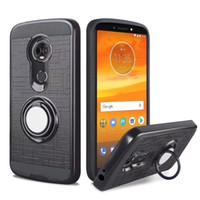 Per Samsung Galaxy Note 4 5 s6 edge plus grand neo J1 J2 J3 360 Anello KickStand Cover posteriore magnetica resistente a doppio strato