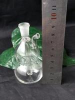 작은 조롱박 물 담뱃대 도매 유리 봉 오일 버너 유리 물 파이프 오일 렌지 흡연 무료