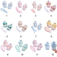 Soft toddler shoes baby first walking shoes cotton fabric wa...