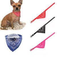 Collar de mascota ajustable para perros cachorro bufanda Collar de perro corbata de corbata encantadora Bandana Calidad Mascota Gatos Accesorios para perros de suministro 50