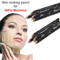 Matita bianca per High Intensity Focused Ultrasound HIFU Lifting Antirughe Lifting Antinvecchiamento Skin Marking 2pcs Matita per marcatura