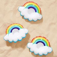 2018 creative cute white swan   love cup holder cloud rainbo...