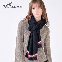 VIANOSI Warm Cotton Scarf Women Winter Sjaals Voor Vrouwen S...