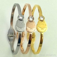 PB105 fashion Lovely a Fortune Cat classic simple style gold...