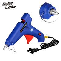 Super PDR 100W Hot Melt Lijmpistool 100-240V Elektrische Hittemperatuur Tool Fit 11mm Lijm Stick EU AU UK Conversion Plug