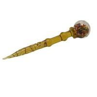 ملونة 5 بوصة زجاج Dabber أداة الشمع اللمسة للالكوارتز السجق مسمار أدوات اللمسة زجاج الكرة كارب كاب Dabber أداة بونغس