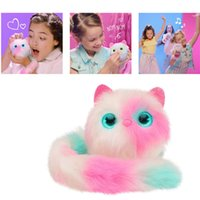 Surprise Pomsies Cat Plush Interactive Toys Pomsies Wrapples...