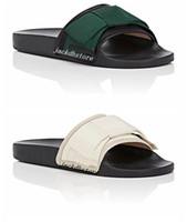 nuovo arrivo mens e womens moda sandali con infradito in raso impreziositi da sandali infradito da uomo in spiaggia con suole in gomma