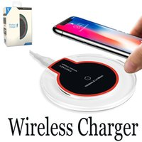 Wireless Qi Charger For iPhone X 8 Plus Fast Charging Mini U...