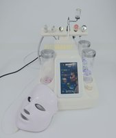 7 light colors LED facial mask hydra facial water dermabrasi...