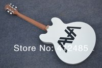 شحن مجاني شحن مجاني جديد وصول خطوط سوداء بيضاء es 333 الجاز غيتار كهربائي آلات موسيقية